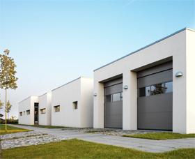 nassau, arkitekt, Med en port fra NASSAU har du stort sett fritt valg til å designe bygningsfasaden som du ønsker.