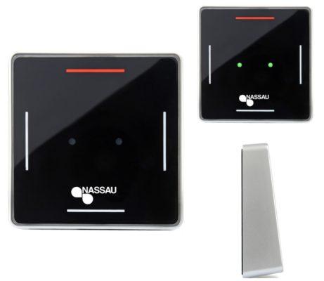 Veggsender 2-kanal med sensor