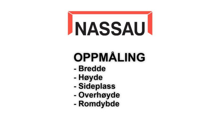 NASSAU oppmåling
