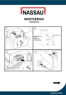 Garasjeport montaering